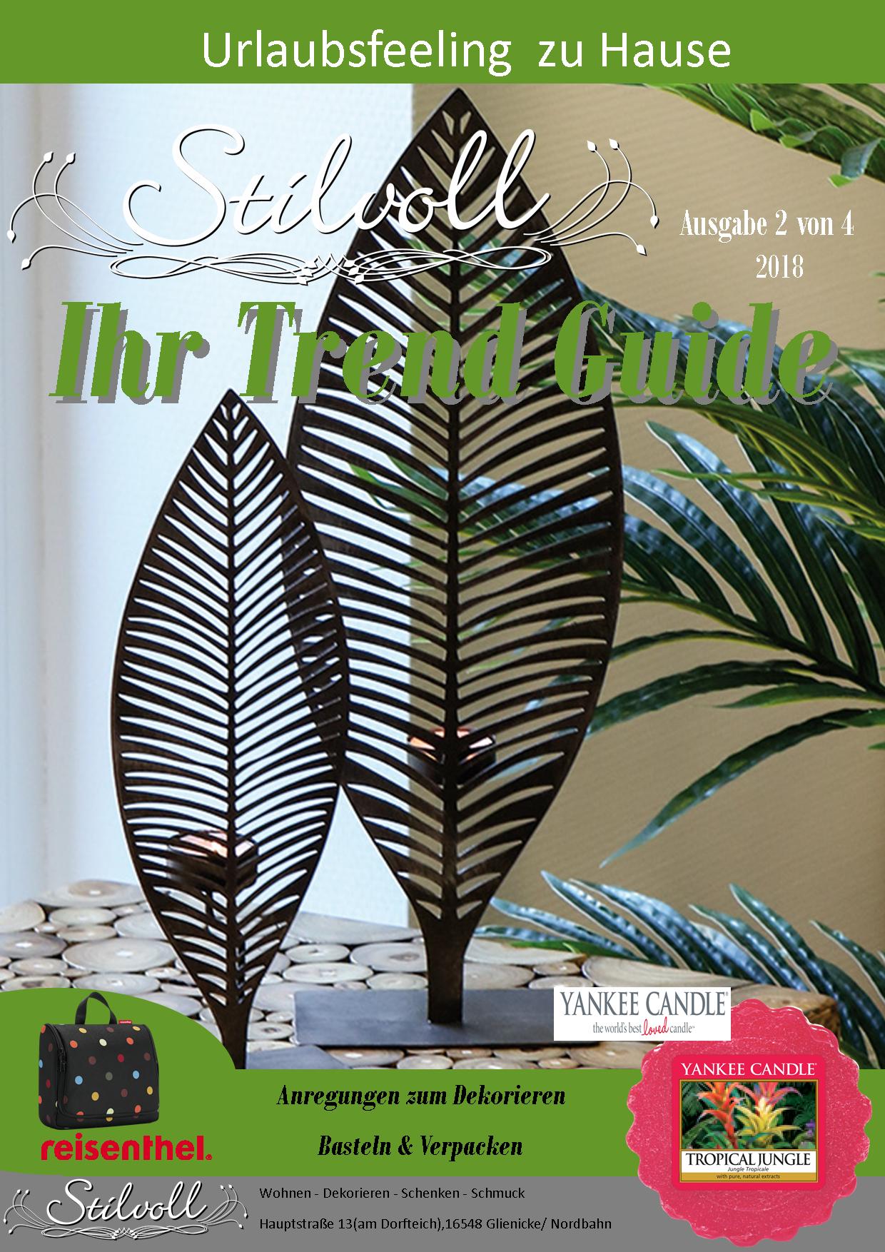 Stilvoll Zeitschrift 2.Quatal 2018 Seite 1