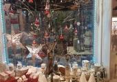 Laden Weihnachten Schaufenster