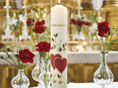 Wiedemann Anlasskerzen Hochzeit Kirche