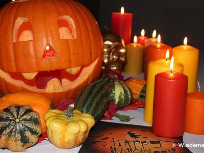 Wiedemann Anlasskerzen Halloween