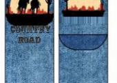 10115_Men Socks Wild West
