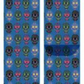 10119_Men Socks Diamond Skulls