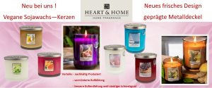 Heart & Home Duftkerzen