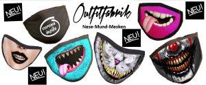 Große Auswahl an Mund-Nasen-Masken